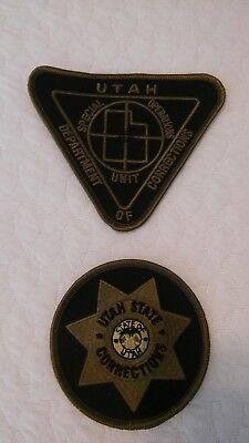 Utah Department of Corrections Officer Special Operations patches.