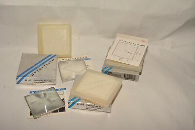 Hasselblad Focusing Screens 42188 And 42165 Plus A Box Only For 42170