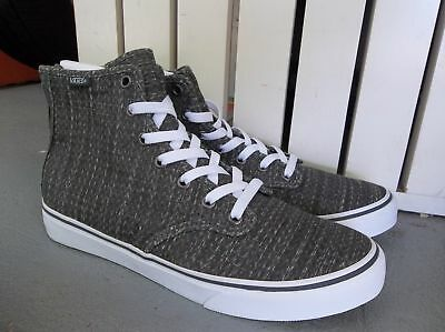 b20bc4c4a1 Nwt Women s Vans Camden Hi Zip Chevron Sneakers shoes.size 7.brand New