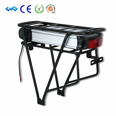 48V 15Ah Lithium Li-ion Battery with Rear Rack for 1000W 48V Electric Bike MA