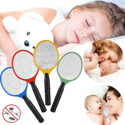 1x Electric Fly Insect Racket Zapper Killer Swatter Bug Mosquito Wasp Electronic