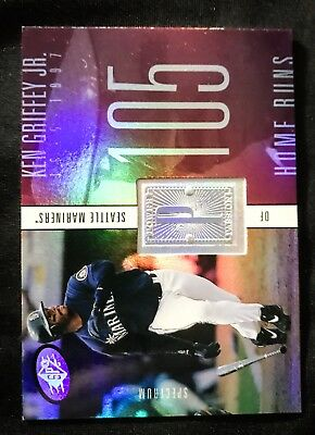 1998 SPx Finite Spectrum #240 Ken Griffey Jr. 1418/1750 - NM-MT