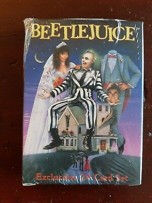 Beetlejuice The Movie Trading Card Complete Factory Set Sealed 2001 NECA