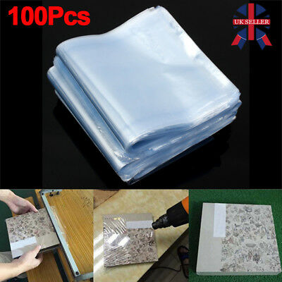 Multi-size Transparent Shrink Wrap Bag Film Heat Seal Pouch Gift Packing of 100
