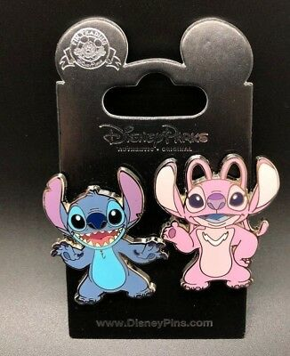 Disney Lilo And Stitch And Angel 2 Pin Set Disney Parks 2018 New Wdw Dlr