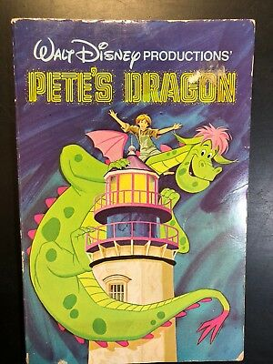 Vintage 1978 Pete's Dragon Book, Walt Disney Productions, Cartoon Feature Film