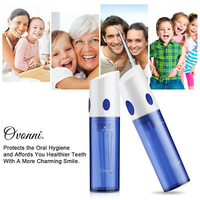 Ovonni Daily Oral Health Rechargeable Oral Irrigator with 140 ml Water Tank