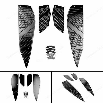 Foot Peg Plate Footrest Step Pad Mat Cover For Yamaha XMAX 125 250 300 400 Bk TP