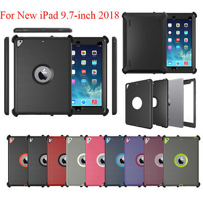 For iPad 9.7 2018 (iPad 6th Gen) Defender Case(Shield Stand Fits for Otterbox)