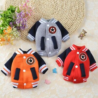 Small Pet Dog Cat Clothes Puppy Winter Warm Sweater Hoodie Coat Costume Apparel