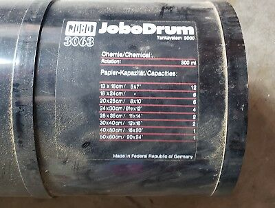 """Jobo 3063 Print Drum -This tank will take prints or ULF sheets of up to 20""""X24"""""""