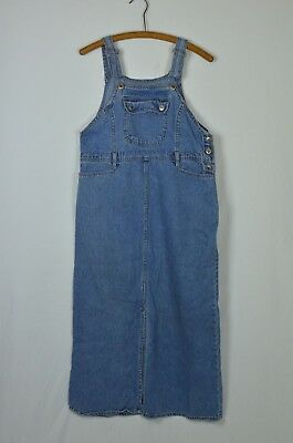 d76d979e8f ROUTE 66 DENIM overall dress in a size Med m women s Pockets Cotton ...
