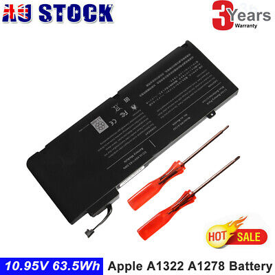 "A1322 Battery For Apple Macbook Pro 13"" A1278 Mid (2009 2010 2011 2012) MB990 L"