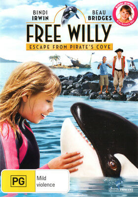 Free Willy 4: Escape from Pirate's Cove  - DVD - NEW Region 4