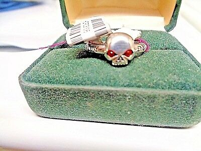 Vintage Harley Davidson Sz 6 Lady's.sterling New W Tag- Mod Rub Willie D Ring