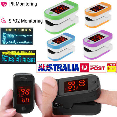 NEW Finger Tip Pulse Oximeter SpO2 Heart Rate monitor blood oxygen Sensor Meter