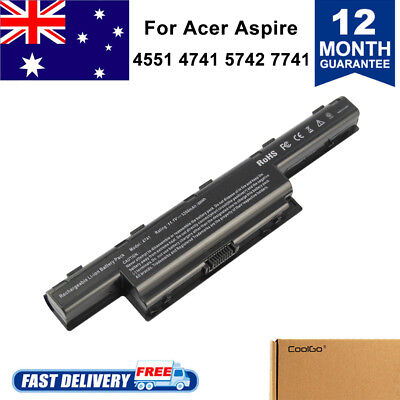Acer Aspire 5750 Laptop Battery 6 cell 4551 7551 7750 AS10D31 AS10D51 AS10D71