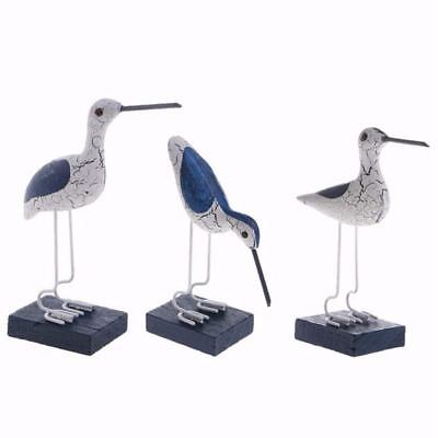 Seagull Pattern Mediterranean Marble Wood Marble Decoration E2F3