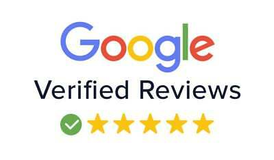 100 Google Reviews For Business Real 5 STAR Google Reviews verified reviews