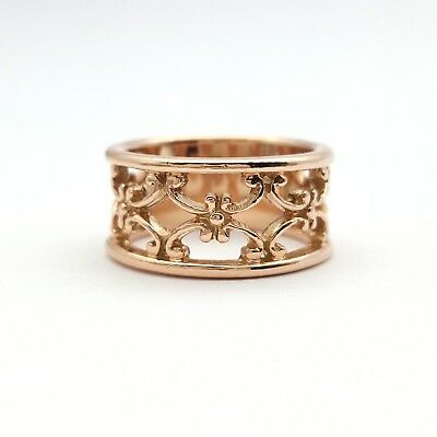 Ladies Rose Gold Ring 9ct (375,9K) Rose Gold Fancy Dress Ring