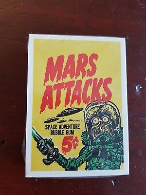 Mars Attacks 1984 Official Reprint COMPLETE COLLECTOR CARD SET SEALED