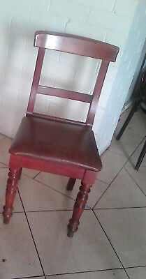 Antique vintage Dining Chairs,
