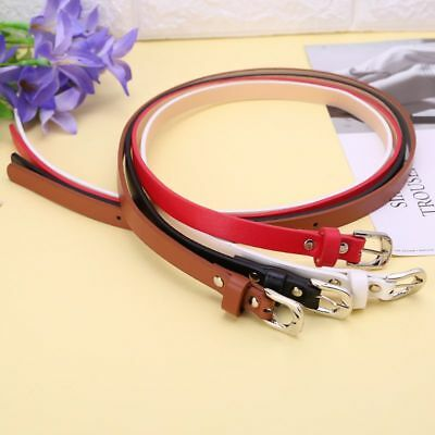 Leather Waist Belt Suit Casual Leisure Metal Buckle Simple for Boys Kids Uniform