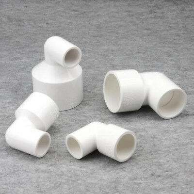 PVC Water Pipe Tube Diameter Conversion Adapter Elbow Connectors Pipe Fittings