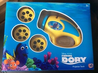 Projects 18 images 3 interchangable Discs Finding Dory Projector Torch 3Years