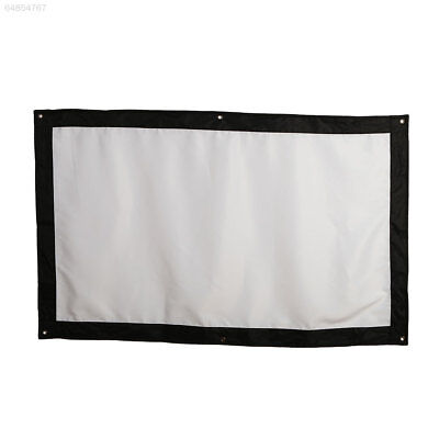 FAFF Projection Screen Projector Curtain School Office Lobbies Outdoor