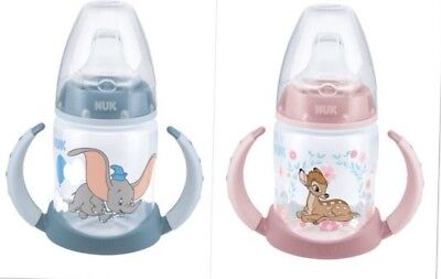 NUK Disney Classics First Choice Trinklernflasche 150ml Bambi, Dumbo 6-18 Monate