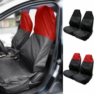 2x Auto Seat Covers for Car Sedan Truck Van Universal Seat Covers Waterproof