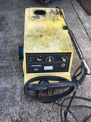 Karcher Hds 580  Hot/cold Pressure Washer /steam Cleaner, Diesel/mains Electric