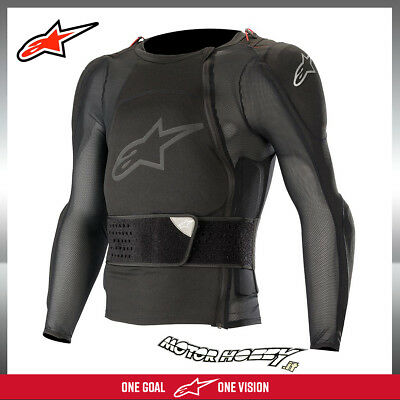 Pettorina Alpinestars Sequence Protection Jacket Long Sleeve Nero Tg. Xl