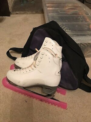 Risport  R4 Ice Skating Boots Good Condition Hardly Used Inc Bag&BladeCovers