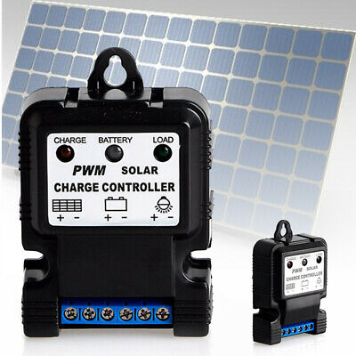 6V 12V 10A Auto Solar Panel Charge Controller Battery Charger Regulator PWM