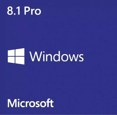 Windows 8.1 Pro Professional Key| 32/ 64-bit|Product License Key| Download Link