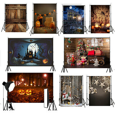 5X7FT Ghost festival Christmas theme cloth photography Backdrop Background studi