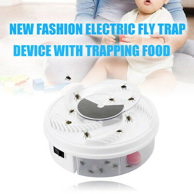 Electric USB Automatic Flycatcher Fly Trap Mosquito Reject Control Catcher Home