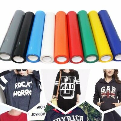 A4 Heat Transfer Vinyl Iron-on PU T-Shirt Garment Textile Press Film 21x29cm