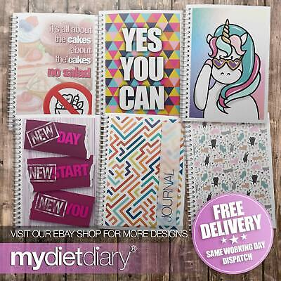 DIET DIARY - Meal Planner - Weight Loss Food Tracker Diet Diary Slimming 12 week