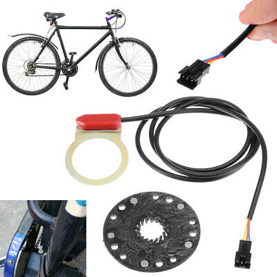 E-bike Bicycle Scooter Kit Power Pedal Assist Sensor 5 magnet Type PAS 800mm