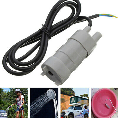 JT500 DC 12V Solar Brushless Magnetic Submersible Water Pump 5M 600L/H Fish Pond