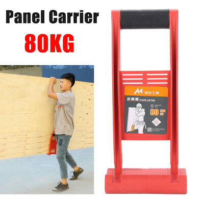 Panel Carrier Gripper Handle Carry Drywall Plywood Sheet ABS 80KG Load Tool
