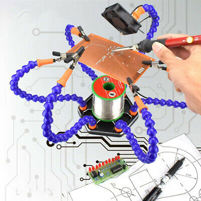Helping Hands Third Hand Soldering Tool Flexible Arms Six Arm Soldering Station