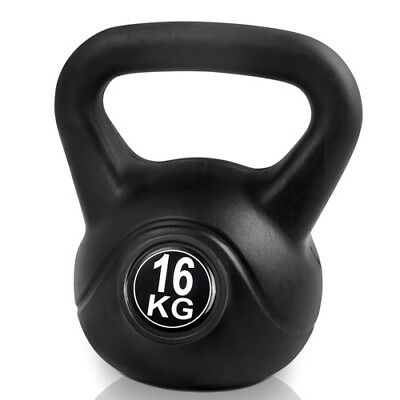 Everfit 16KG Kettle Bell Kit Weight Kettlebell Fitness Exercise Home Gym