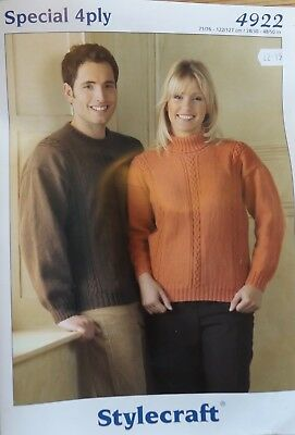King Cole Big Value 4ply Adult Sweater Knitting Kit