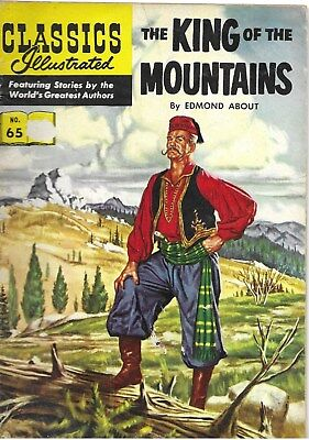 """Classics Illustrated #65 """"The King of the Mountains"""" - no date evident"""