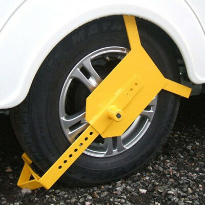 MAYPOLE Universal Heavy Duty Wheel Clamp (MP909)
