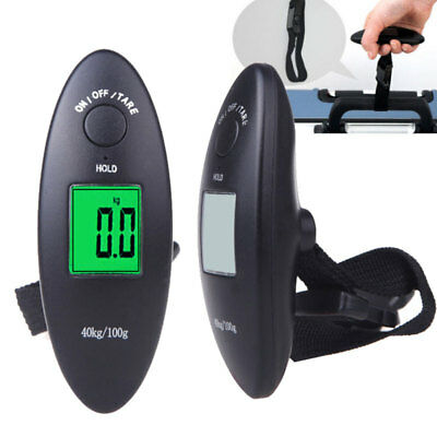 High Quality 40kg LCD Digital Fish Hanging Luggage Electronic Hook Scale Durable
